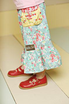 Good Hart, Spring 2013: Stone Cliff Ruffles - Matilda Jane Girls Clothing