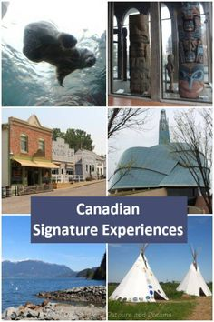 Canadian Signature Travel Experiences: unique once-in-a-lifetime experiences as designated by Tourism Canada #travel #Canada