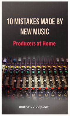 When setting up home music studios you re bound to make some mistakes Check out these 10 common mistakes made by new Music Producers Also highlighting common mistakes made by session musicians A great set of music production tips for your recording studio Studio Desk Music, Recording Studio Setup, Music Desk, Audio Studio, Home Recording Studio Equipment, Sound Studio, Music Production Equipment, Music Production Studio, Video Production