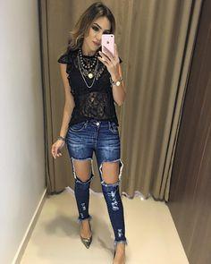 """3,693 curtidas, 24 comentários - Estação Store (@estacaostore) no Instagram: """"Blusa Talita   Calça Jeans Mila Disponível para #Atacado e #Varejo - Seja uma revendedora.…"""""""