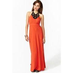 Wicked Crochet Maxi Dress