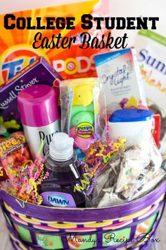 College Student Easter Basket