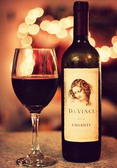 Italian wine na lista para tomar