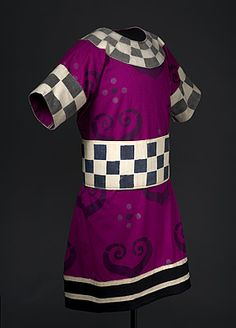 Léon BAKST | Costume for a brigand. Costume for a brigand c.1912  tunic: wool, paint; belt: cotton, paint, metal buckle  Purchased 1973  National Gallery of Australia, Canberra NGA 1973.270.119.A-B