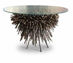 Buy The Urchin Table by James Bearden  by Studio Van den Akker - Made-to-Order designer Furniture from Dering Hall's collection of Contemporary Mid-Century / Modern Organic Rustic / Folk Transitional Side Tables