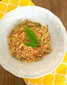 Farofa de ora-pro-nóbis Chefs, Risotto, Grains, Beverages, Rice, 1, Lunch, Ethnic Recipes, Food