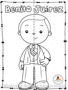 Excelente Y Creativo Material Interactivo De Benito Juarez Material Educativo Benito Juarez Para Ninos Libros De Preescolar Actividades Escolares
