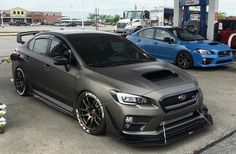 Subaru WRX STI. I'd like to take this Mexico and have a little fun in my grandmas backyard