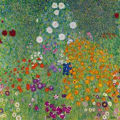 "gustavklimt-art: "" Blumengarten 1907 Gustav Klimt """