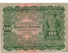 Austrian Kronen 1922
