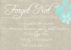 several Forget me Not printables on this site...