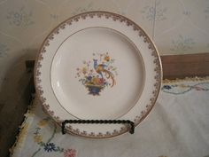 Two Century by Salem Dessert Plates by pamsantiques on Etsy, $7.50