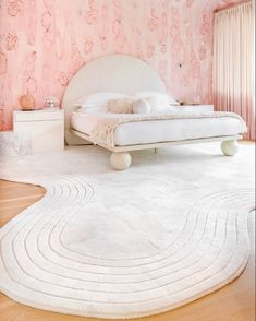 Pretty in Pink Bedroom - The English Room Girls Bedroom, Bedroom Decor, Baby Room Design, Pink Room, Diy Bed, Elle Decor, Kids Furniture, The Hamptons, Interior Design