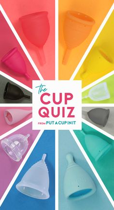 We know your perfect menstrual cup based on 9 questions! Menstruationstasse-Quiz von Put A Cup In It The post Wir kennen Ihre perfekte Menstruationstasse anhand von 9 Fragen! & PERIOD appeared first on Menstrual . Menstral Cup, Happy Cup, Feminine Hygiene, Cloth Pads, Simple Life Hacks, Perfect Cup, Menstrual Cycle, Holistic Healing, Period
