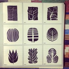 leaves, 1959 (from our instagram - anna_birdsofohio)