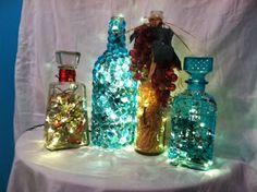 DiamondBurs: DIY Project Spotlight - Wine Bottle Lights