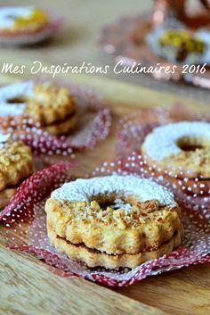 Biscuits Sablés Anneaux aux amandes facile