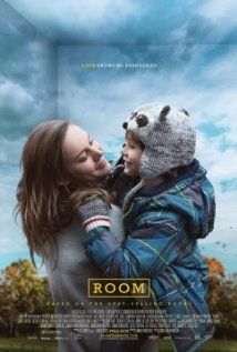 Room, based on the book by Emma Donoghue, stars Brie Larson, was released on November 6, 2015. It is rated R.