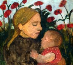 Mother and Child (1904) Paula Modersohn-Becker (by BoFransson)