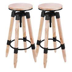 Mophorn Wood Barstools Set of 2 Modern Industrial Adjusta... https://www.amazon.com/dp/B06XX249Q9/ref=cm_sw_r_pi_dp_x_FwZ3ybQ6AJKNE
