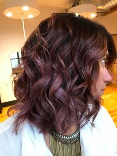 Chocolate Mauve Hair Color Trend | POPSUGAR Beauty