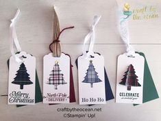 Peaceful boughs bundle, frosted foliage bundle and perfectly plaid bundle – Lynsey McCord – Independent Stampin' Up! Christmas Gift Tags Printable, Diy Christmas Cards, Stampin Up Christmas, Holiday Cards, Plaid Christmas, Christmas Stockings, Stampinup, Card Tags, Making Ideas