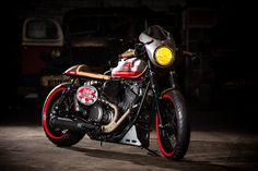 Yamaha Bolt XV950 Cafe Racer by Liberty Yam #motorcycles #caferacer #motos | caferacerpasion.com