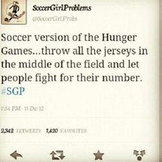 Soccer hunger games