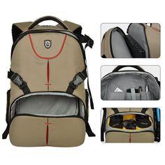 DSLR-Photography-Camera-Backpack-Bag-Daypack-Rucksack-Padded-Insert-Case-Pouch Camera Backpack, Backpack Bags, Photography Camera, Pouch, Backpacks, Ebay, Shopping, Sachets, Porch