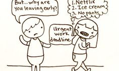 12 Drawings That Nail The Everyday Life Of An Introvert