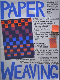 Adventures of an Art Teacher: ElementaryWeaving Tips