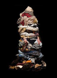 Kaikki vaatteesi kerralla puettuna.