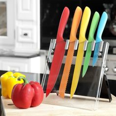 Multi-Coloured Knife Set