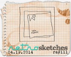 retro sketches : a challenge: retrosketches #111...