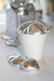 Traditional themed wedding favours