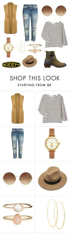 """""""So Fresh and So Keen: Contest Entry"""" by hanakalesic ❤ liked on Polyvore featuring WearAll, Margaret Howell, Tory Burch, Victoria Beckham, Accessorize, Lana, Keen Footwear and keen"""