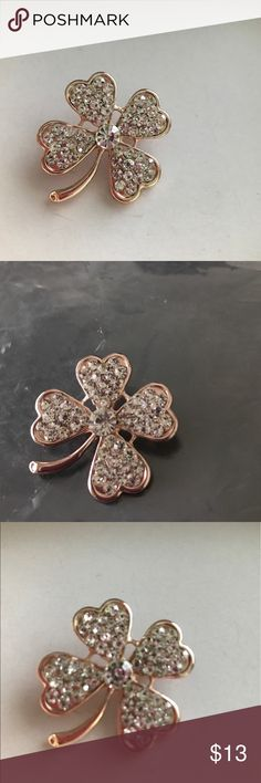 Cute brooches with rose gold tone mixed metal Cute brooches with rose gold tone mixed metal Charter Club Jewelry Brooches