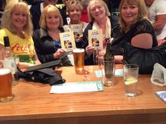 Celebrating with friends after my book launch for the love of Christopher