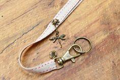 Cordon fantaisie pour stylo/clés/badge : Porte clés par autour-de-vous