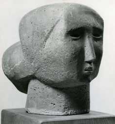 Henry Moore 'Head of a Woman' 1926
