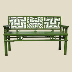 More benches...