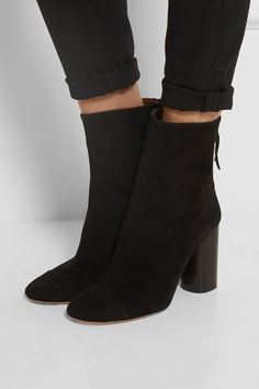 Isabel Marant   Grover suede boots   NET-A-PORTER.COM