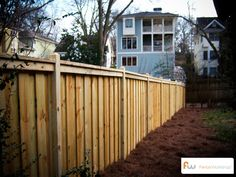 Fence for the home. #privacyfence
