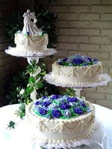 WEDDING CAKES SIMPLE 3 SEPARATE TIERS - - Yahoo Image Search Results
