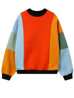 SHARE & Get it FREE | Fleece Color Block SweatshirtFor Fashion Lovers only:80,000+ Items • New Arrivals Daily Join Zaful: Get YOUR $50 NOW!