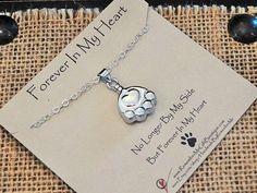 Sterling Silver Pet Ash Holder Necklace by HandmadeByRememberMe
