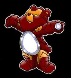 Iconic Iron Care Bear