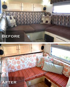 Redecorated TB Before And After