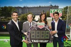 TAG Heuer, patrocinador y cronometrador de LaLiga como