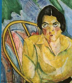 Anita Malfatti e sua obra de arte A Boba